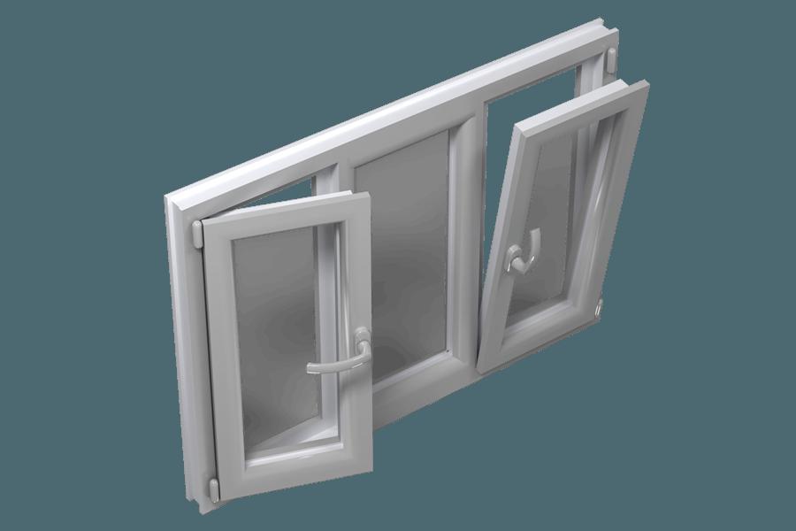 механизмы открывания пластиковых окон