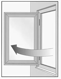 поворотное окно